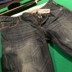 Gap 1969 Easy Straight 32/14 distressed Jeans